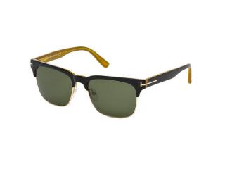 Browline sunglasses - Tom Ford Louis FT0386 05N