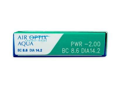 Air Optix Aqua (3 lenses) - Attributes preview