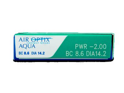 Air Optix Aqua (3lenses) - Attributes preview