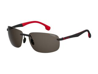 Rectangular sunglasses - Carrera Carrera 4010/S BLX/IR