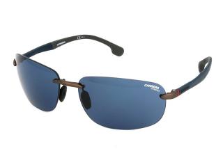 Rectangular sunglasses - Carrera Carrera 4010/S R80/KU