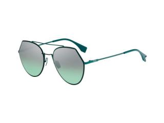 Round sunglasses - Fendi FF 0194/S 1ED/GY