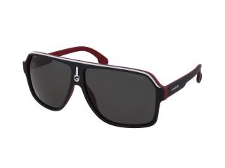 Rectangular sunglasses - Carrera Carrera 1001/S BLX/M9