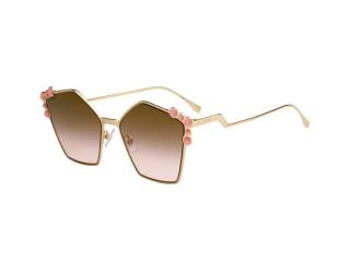 Extravagant sunglasses - Fendi FF 0261/S 000/53