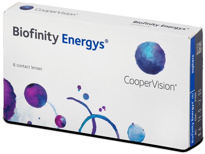 Biofinity Energys (6 lenses) - Monthly contact lenses