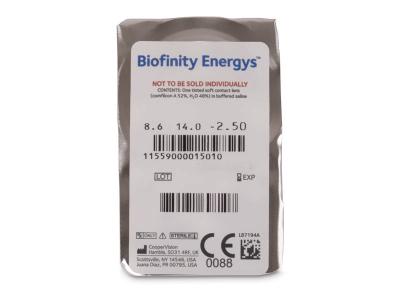 Biofinity Energys (6 lenses) - Blister pack preview