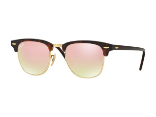 Browline sunglasses - Ray-Ban Clubmaster RB3016 990/7O