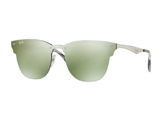 Browline sunglasses - Ray-Ban Blaze Clubmaster RB3576N 042/30