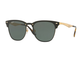 Browline sunglasses - Ray-Ban Blaze Clubmaster RB3576N 043/71