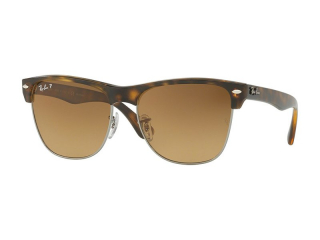 Browline sunglasses - Ray-Ban Clubmaster Oversized Classic RB4175 878/M2