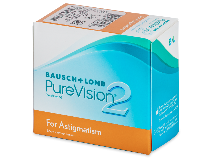 PureVision 2 for Astigmatism (6 lenses) - Toric contact lenses