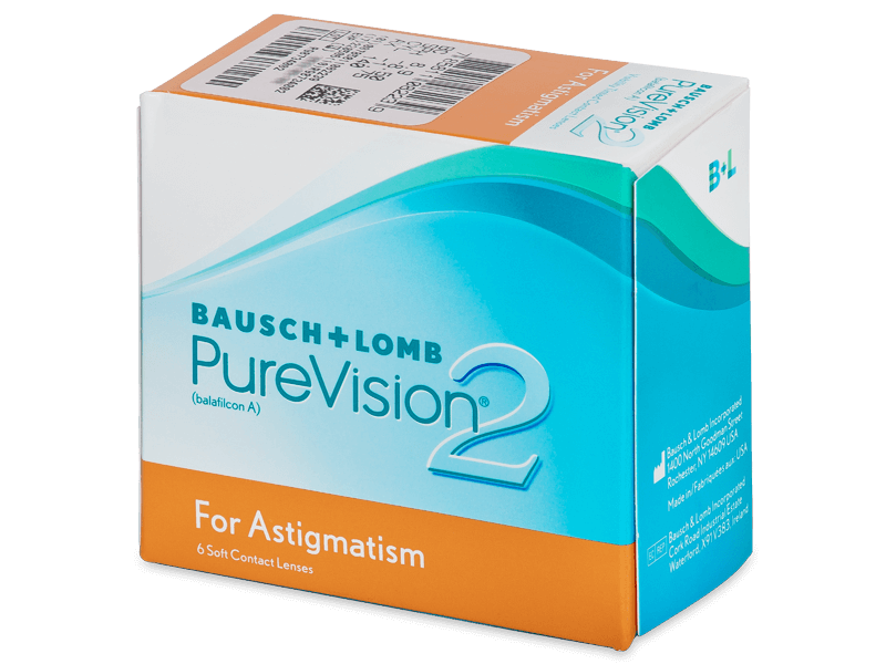 PureVision 2 for Astigmatism (6lenses) - Toric contact lenses