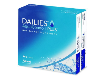 Dailies AquaComfort Plus (180lenses) - Previous design