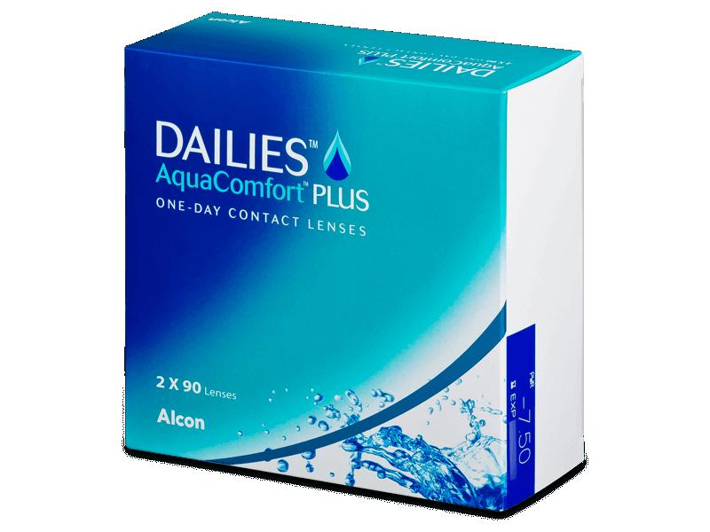 Dailies AquaComfort Plus (180lenses) - Daily contact lenses