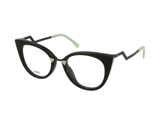 Cat Eye frames - Fendi FF 0119 AQM