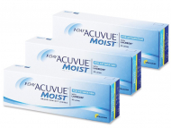 Toric Contact Lenses - 1 Day Acuvue Moist for Astigmatism (90 lenses)