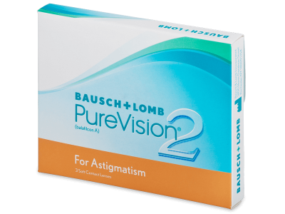 PureVision 2 for Astigmatism (3lenses) - Toric contact lenses
