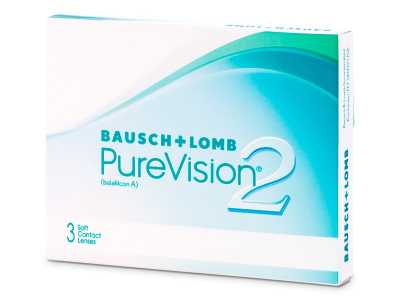 Monthly contact lenses - PureVision 2 (3lenses)