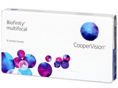 Biofinity Multifocal (6 lenses) - Multifocal contact lenses