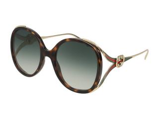Oval sunglasses - Gucci GG0226S-003