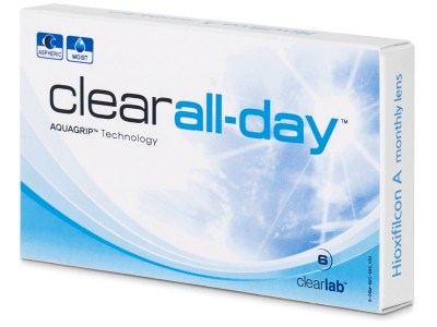 Clear All-Day (6lenses) - Monthly contact lenses
