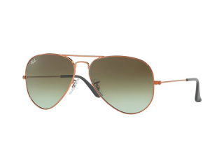 Ray-Ban sunglasses - Ray-Ban AVIATOR LARGE METAL RB3025 9002A6