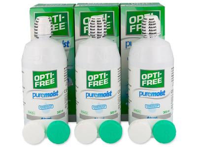 OPTI-FREE PureMoist Solution 3 x 300ml