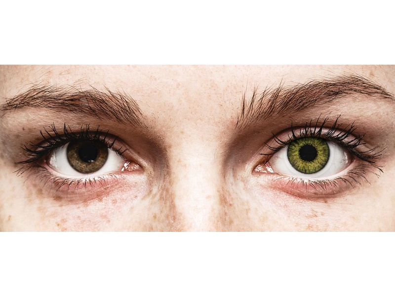 Air Optix Colors - Gemstone Green - plano (2 lenses)