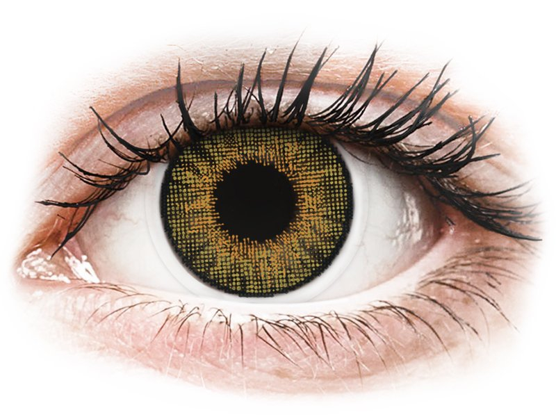 Air Optix Colors - Pure Hazel - plano (2 lenses)