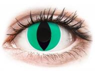 Special coloured lenses - non-dioptric - ColourVUE Crazy Lens - Anaconda - plano (2 lenses)