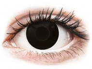 Special coloured lenses - non-dioptric - ColourVUE Crazy Lens - BlackOut - plano (2 lenses)