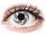 White contact lenses - non dioptric - ColourVUE Crazy Lens - Blade - plano (2 lenses)
