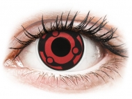 Red contact lenses - non dioptric - ColourVUE Crazy Lens - Madara - plano (2 lenses)