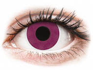 Purple contact lenses - non dioptric - ColourVUE Crazy Lens - Purple - plano (2 lenses)