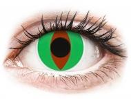 Brown contact lenses - non dioptric - ColourVUE Crazy Lens - Raptor - plano (2 lenses)
