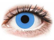Blue contact lenses - non dioptric - ColourVUE Crazy Lens - Sky Blue - plano (2 lenses)