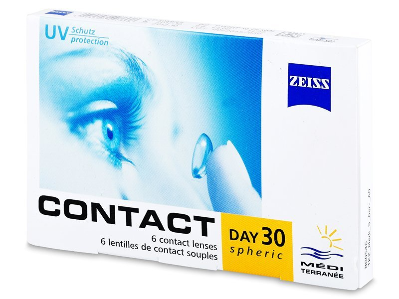 Carl Zeiss Contact Day 30 Spheric (6 lenses) - Monthly contact lenses