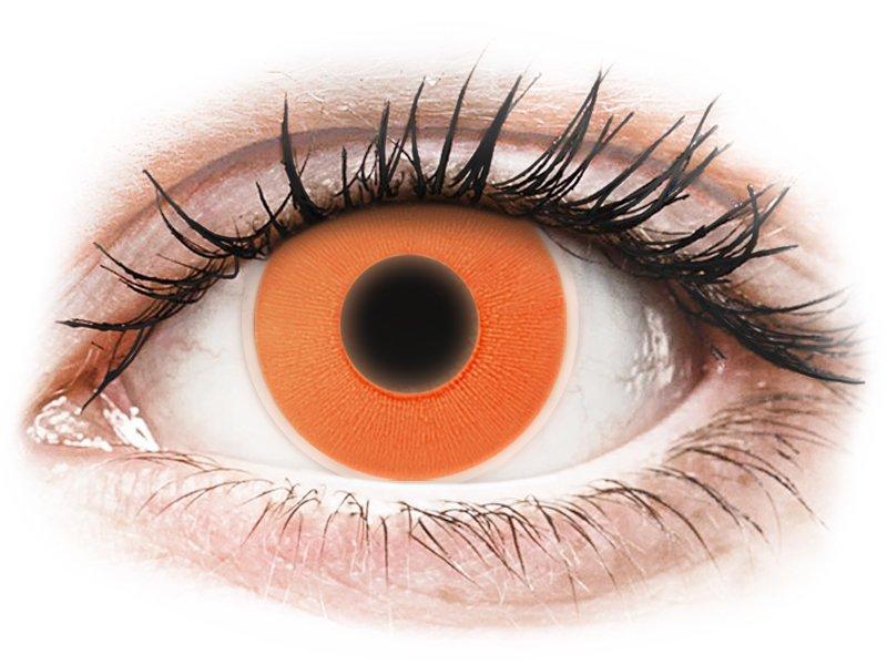 ColourVUE Crazy Glow Orange - plano (2lenses)