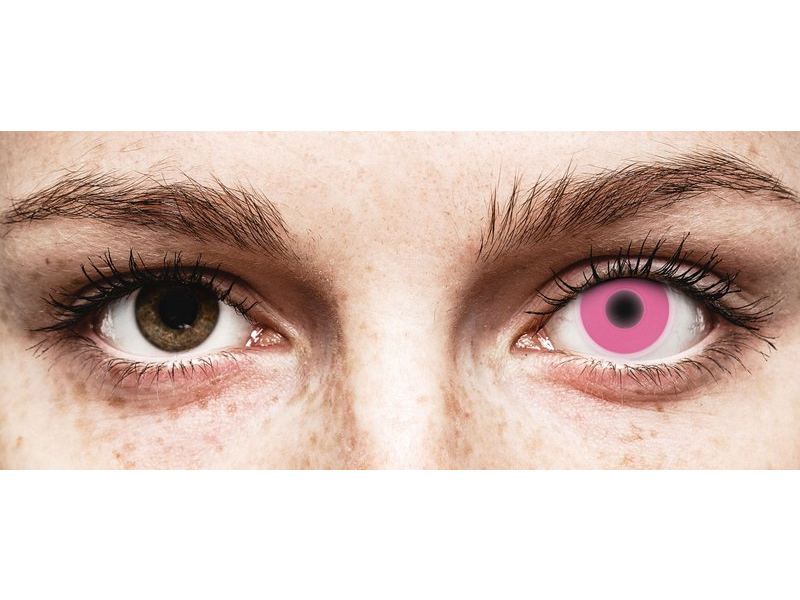 ColourVUE Crazy Glow Pink - plano (2lenses)