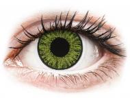 Green contact lenses - non dioptric - TopVue Color daily - Fresh Green - plano (10lenses)
