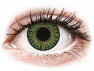 Green contact lenses - non dioptric - TopVue Color daily - Green - plano (10lenses)