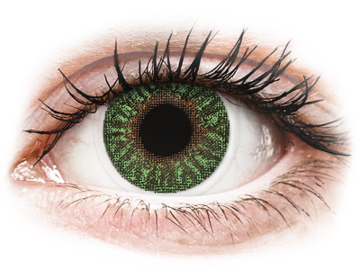 TopVue Color - Green - power (2 lenses)