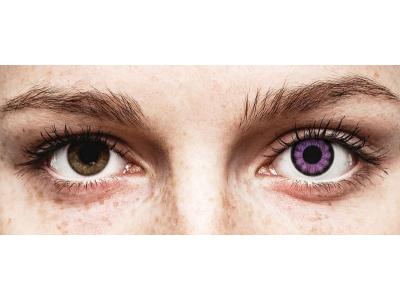 ColourVUE BigEyes Ultra Violet - plano (2lenses)
