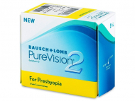 Multifocal Contact Lenses - Purevision 2 for Presbyopia (6 lenses)
