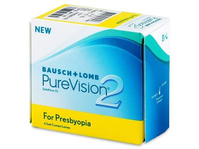 Purevision 2 for Presbyopia (6 lenses) - Previous design