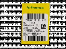 Purevision 2 for Presbyopia (6 lenses) - Attributes preview