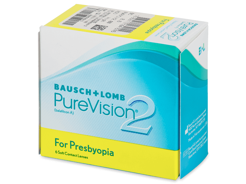Purevision 2 for Presbyopia (6 lenses) - Multifocal contact lenses
