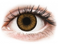 Brown contact lenses - non dioptric - SofLens Natural Colors India - plano (2lenses)