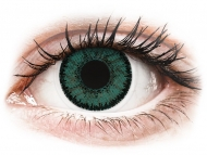 Green contact lenses - non dioptric - SofLens Natural Colors Jade - plano (2 lenses)