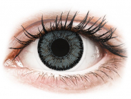 Grey contact lenses - non dioptric - SofLens Natural Colors Platinum - plano (2lenses)